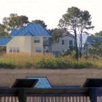 Yellow House Overlooking Marsh